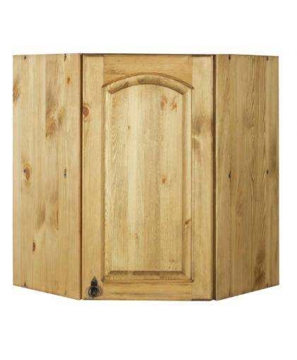 Шкаф настенный угловой Викинг GL №11/1 с дверью
