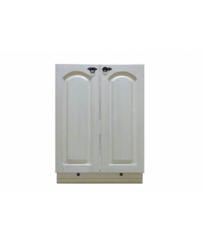 Шкаф под мойку (600 мм) Викинг GL №4,белая патина