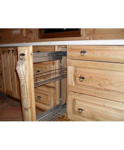Шкаф-стол (150 мм) Викинг GL (с карго) №1