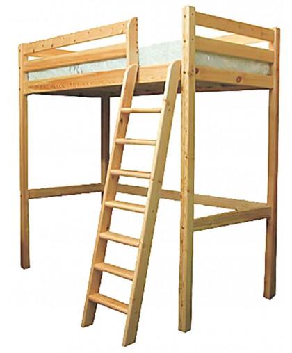 """Кровать """"Чердак"""" из массива сосны"""