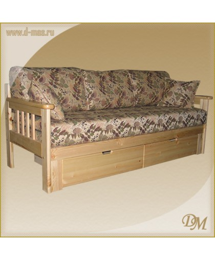 Диван-кровать 3-х местный Канада с ящиком