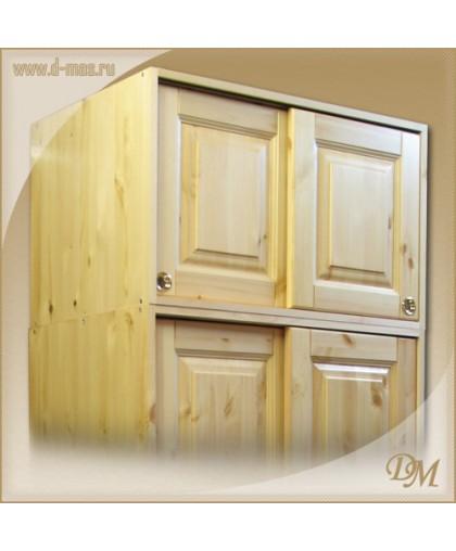 Антресоль шкафа - купе Оскар-2 фасады без сучков
