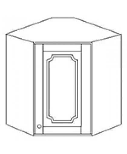 Шкаф угловой 60*60 выс 71 см