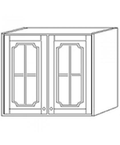 Шкаф навесной 60 стекло выс 71см