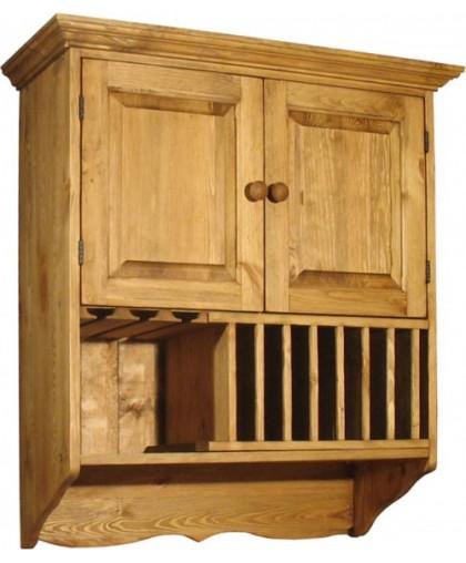 Шкаф навесной для кухни ПЛ 26-К с кит-баром