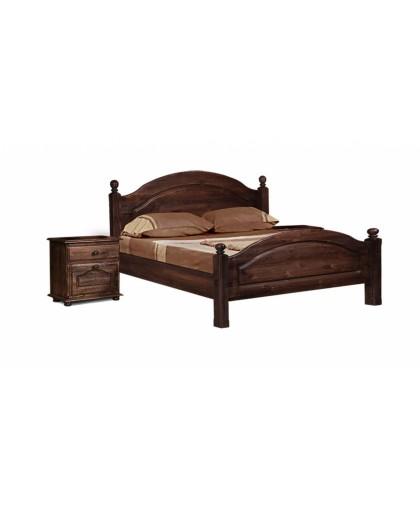"""Кровать """"Лотос"""" 160 BRU мокко"""
