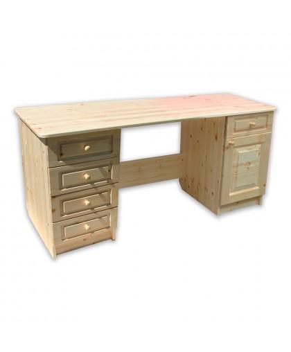 Стол письменный длина 1600 2-тумб.*450 дверь-ящик _4-ящика