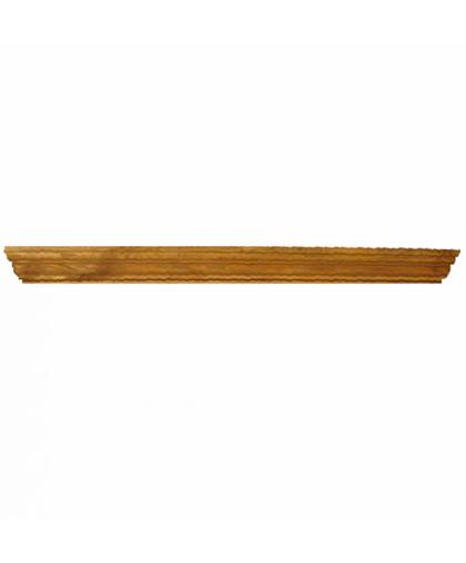 Карниз прямой для настенных шкафов (1 п.м.)