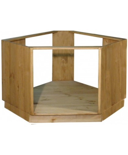 Шкаф-стол угловой под плиту 39