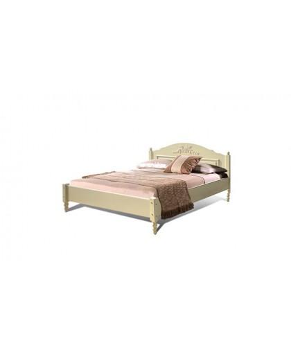 """Кровать 2-х спальная """"Фиерта 4"""" с низкой спинкой (1600)"""