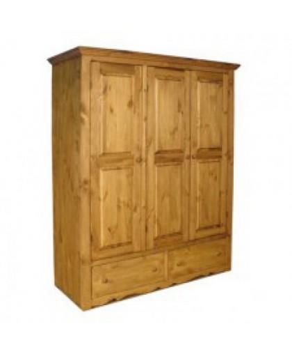 Шкаф для одежды ARMFLEUR 3 (3 двери 2 ящика)