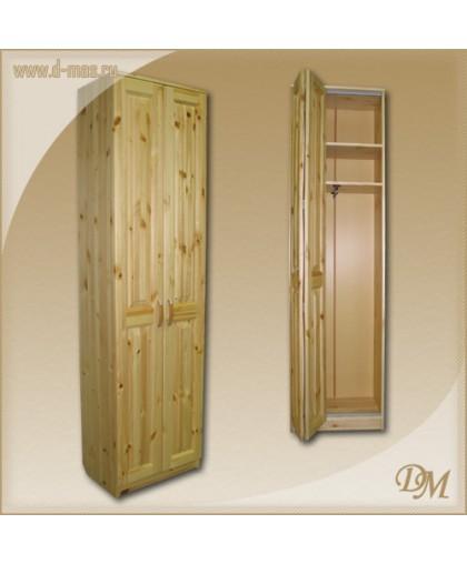 Шкаф Константин платяной - двери гармошка- фасад без сучков