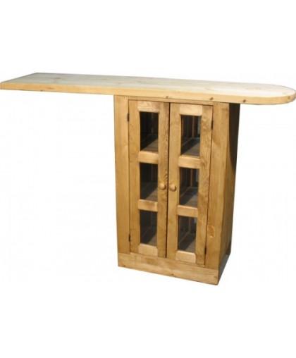 Шкаф-стол ПЛ 30 барный 800 с дверями