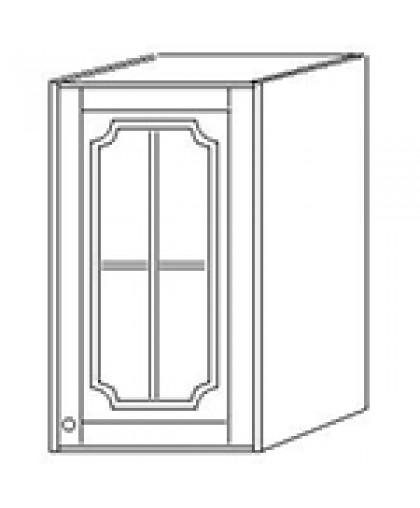 Шкаф навесной 40 стекло выс 71см