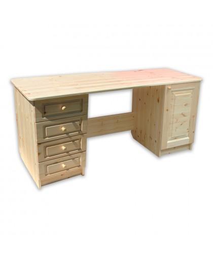 Стол письменный длина 1600 2-тумб.*400 дверь-4-ящик