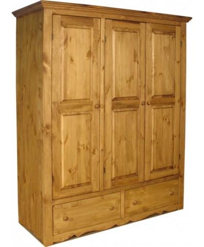 Шкаф для одежды 3 двери 2 ящика ARMOIR 3P 2T