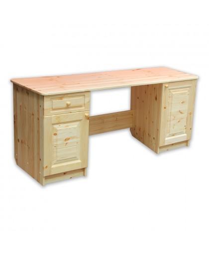 Стол письменный длина 1600 2-тумб. 450 дверь-дверь-ящик