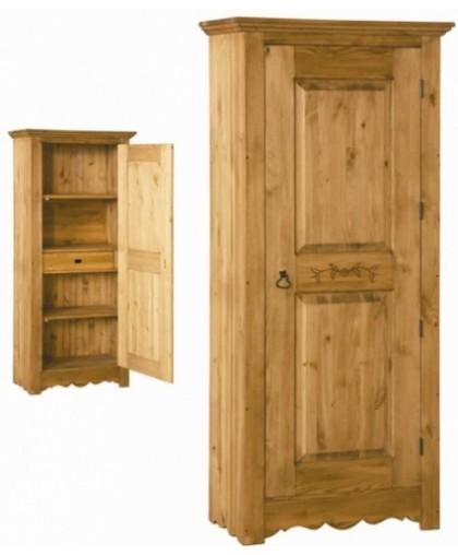Шкаф для белья с резьбой BONNETIERE 194 SCULPTEE