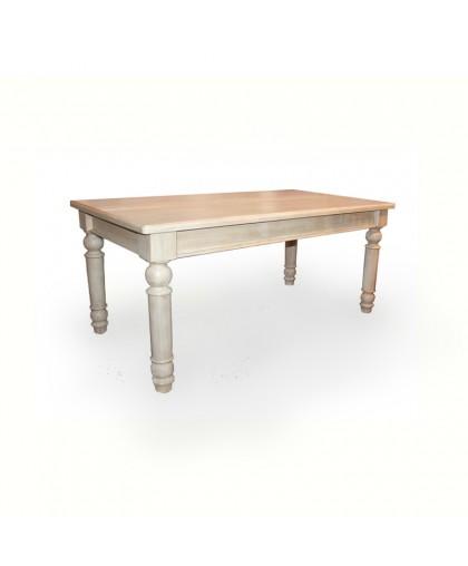 Стол обеденный GL-05  (200) белый браш.