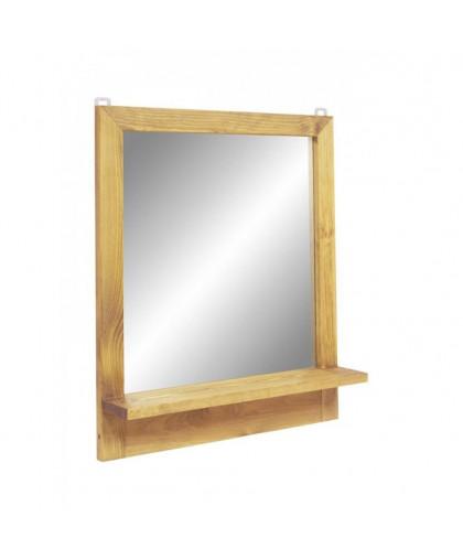 Зеркало с полкой 60х70