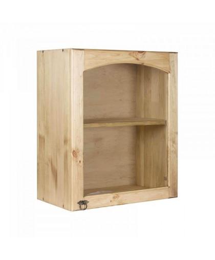 Шкаф настенный со стекл. дверкой (300 мм) «Викинг GL» (с полкой) №19