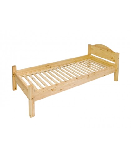 Односпальная кровать Леона-1 МД 218  из массива сосны