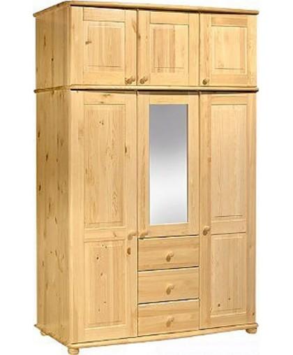 Шкаф для одежды МД 331 из массива сосны
